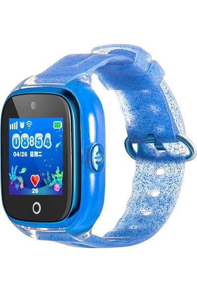 Flykids 500 Suya Dayanıklı Akıllı Çocuk Takip Saati - Mavi