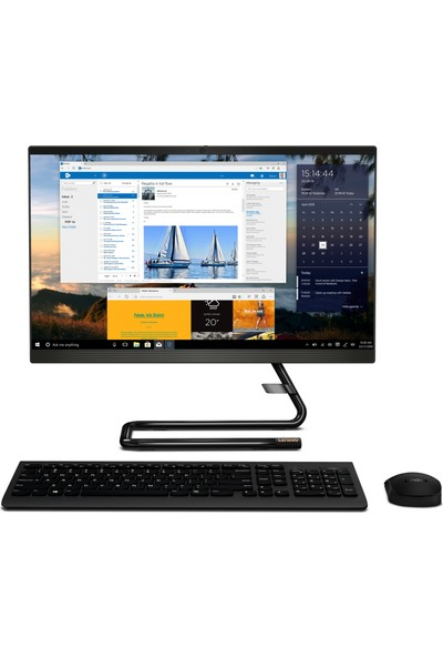 """Lenovo IdeaCentre 340-22IWL Intel Core i5 8265U 8GB 256GB SSD Freedos 21.5"""" FHD All In One Bilgisayar F0EB0058TX"""