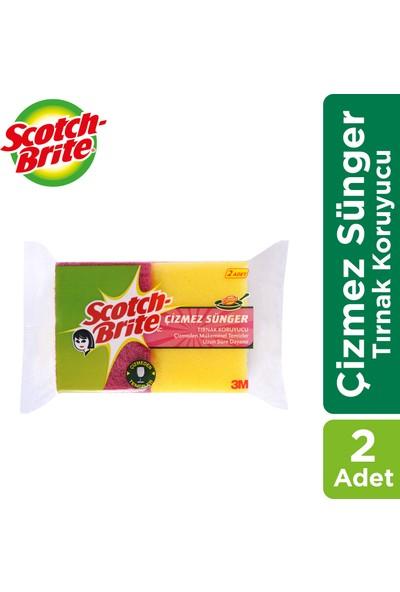 Scotch Brite Yesıl Çizmez Sunger Tk 2' li Paket
