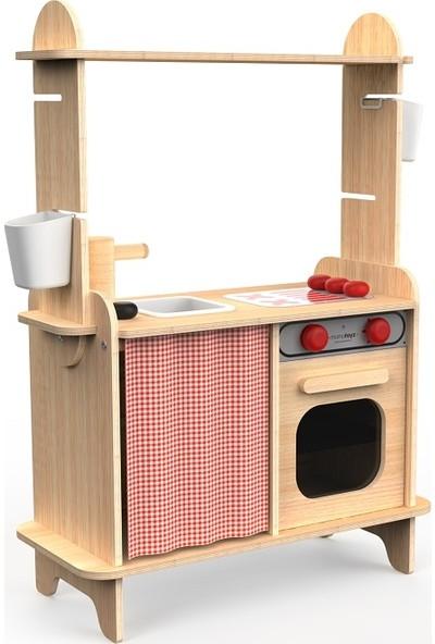 Mamatoyz 10 Sera Mutfak Ahşap Oyuncak