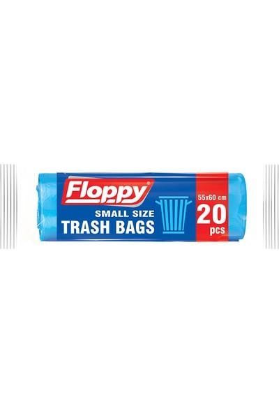 Floppy Orta Boy Çöp Torbası 55X60 cm 20'li Paket