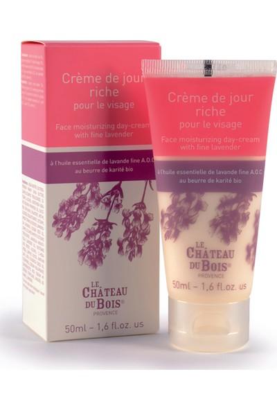 Le Château Du Bois-Yüz Için Nemlendirici Gündüz Kremi 50 ml