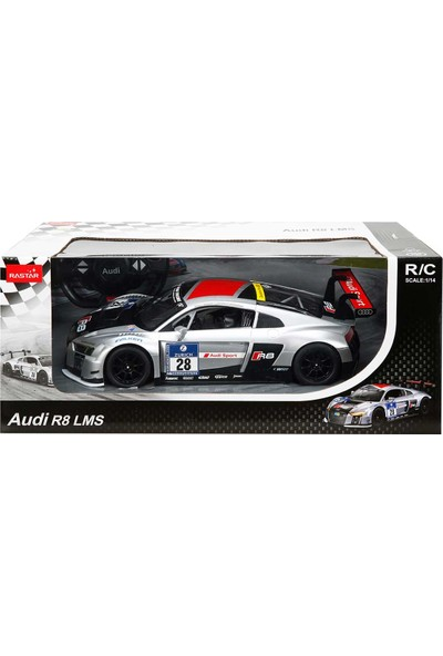 Rastar R/C Uzaktan Kumandalı Audi R8 LMS Işıklı Araba 1/14
