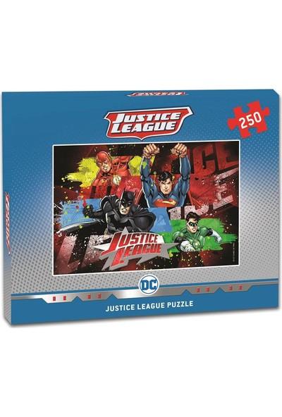 Laço Justice League 250 Parça Çocuk Puzzle