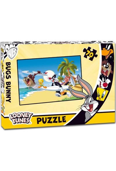 Laço Looney Tunes 70 Parça Çocuk Puzzle