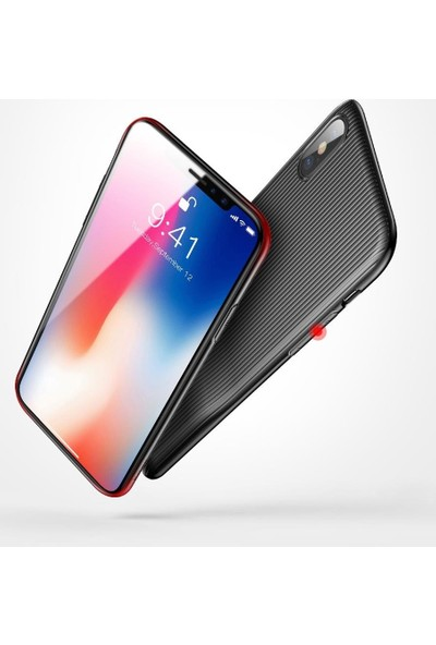 Baseus Apple iPhone X - Xs Audi̇o Case Müzi̇k Şarj Çevi̇ri̇ci̇ Kilif