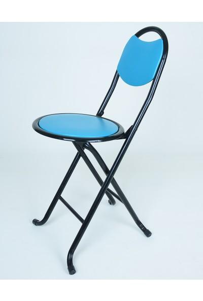 Hastunc Mavi Katlanır Sandalye