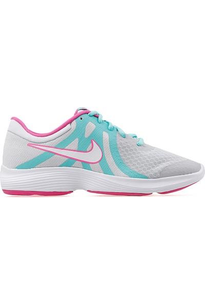 Nike AV5131-001 Revolution 4 Aqua Koşu ve Yürüyüş Ayakkabı