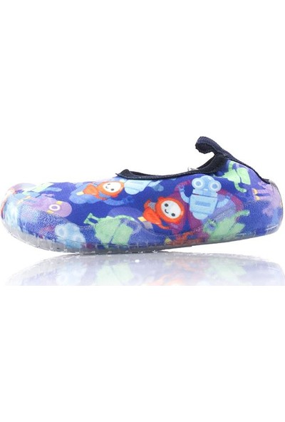 Newborn NAQ2010-NEW134 Aqua Çocuk Deni̇z Havuz Ayakkabısı Sli̇pstop