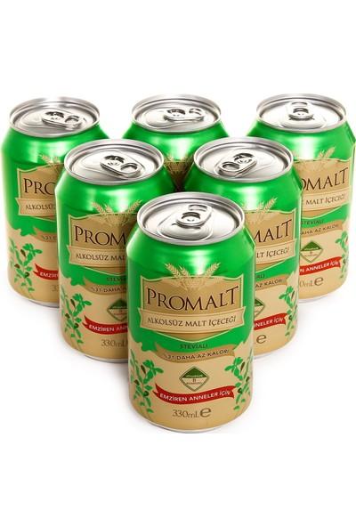 Promalt Stevyalı 6'lı Alkolsüz Malt İçecek