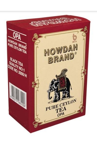 Howdah Brand Ceylon Tea 500 gr. Seylan Yaprak Çay