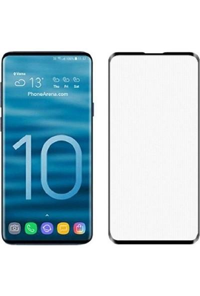 Kılıfist Samsung Galaxy S10E 6D Tam Kapatan Esnek Nano Cam Ekran Koruyucu Siyah
