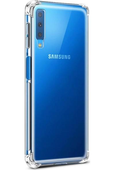 Kılıfist Samsung Galaxy A50 Darbe Korumalı Silikon Kılıf Şeffaf Antişok Kapak