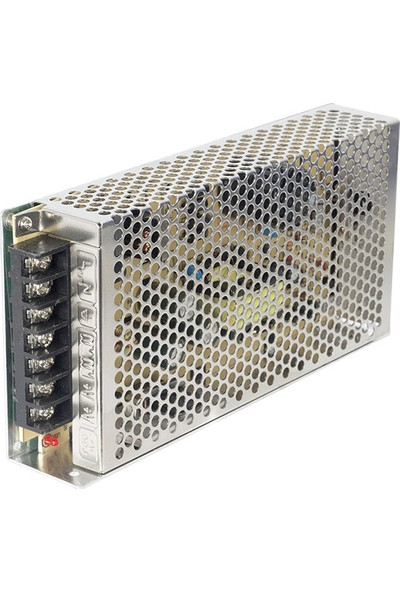 Elektromer 12 V-12.5 A Metal Kasa Adaptör