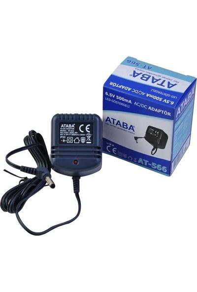Ataba At-566 6.5 V-500 Ma Telefon Adaptörü