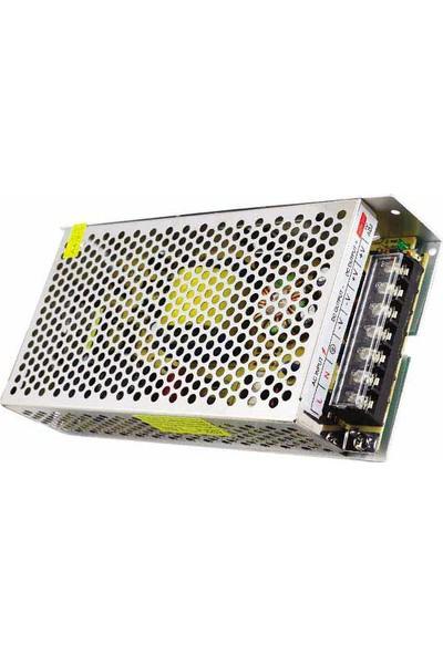Powermaster Elektromer 5V-20A Metal Kasa Adaptör