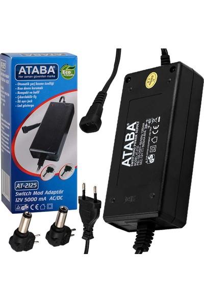Ataba At-2125 12V-5000 Mah Adaptör