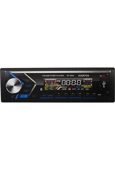 Everton Rt-2004Bt Usb/Sd/Fm/Aux/Bt Mekaniksiz Oto Teyp 4 X 50 Watt Bluetooth Lu