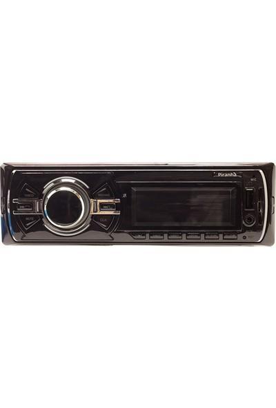 Pıranha 7736 Usb/Sd/Fm/Bluetooth Mekaniksiz Oto Teyp 4 X 50 Watt