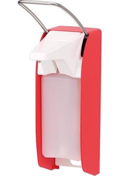 Ophardt Hygiene Kol Kumandalı Dezenfektanlık Kırmızı 1602T