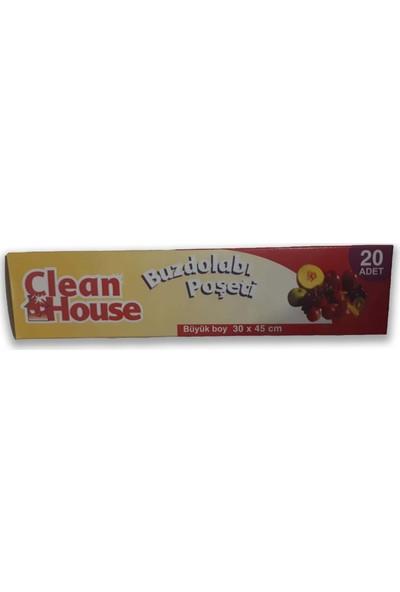 Clean House 20 Li 3 Adet Büyük Boy Buzdolabı Poşedi