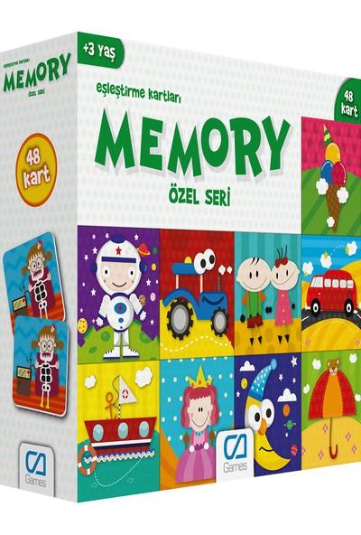 Ca Games Hafıza Kartları 48 Parça Özel Seri