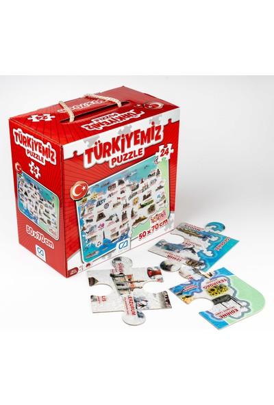 Ca Games Türkiyemiz 24 Parça Puzzle