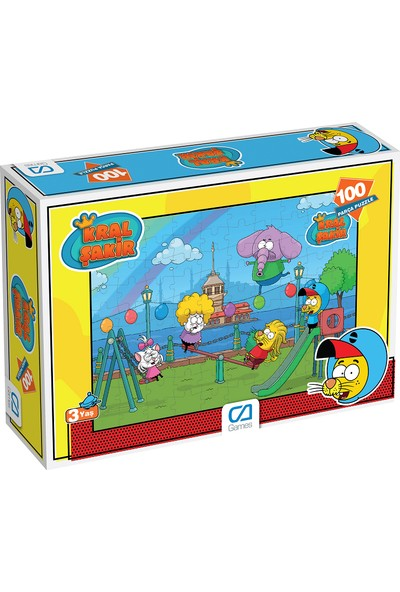 Ca Games Kral Şakir 100 Parça Çocuk Puzzle