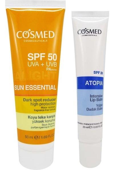 Cosmed Sun Essential SPF50 Dark Spot Reducer Cream 50 ml Set