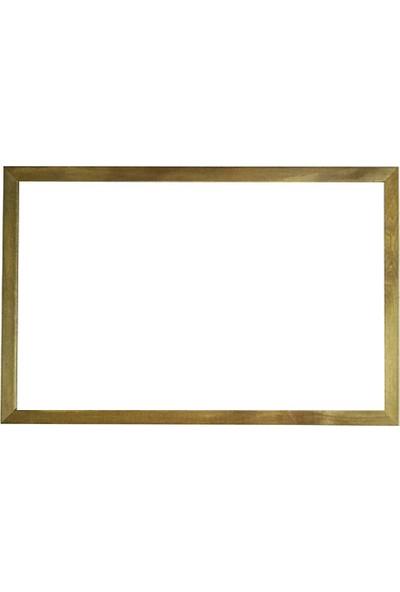 Vivekka 90X120 Duvara Monte Ahşap Çerçeve Laminat Beyaz Yazı Tahtası
