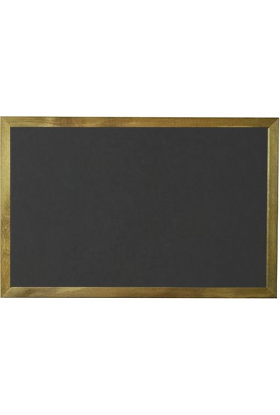 Vivekka 100X140 Duvara Monte Ahşap Çerçeve Laminat Kara Yazı Tahtası