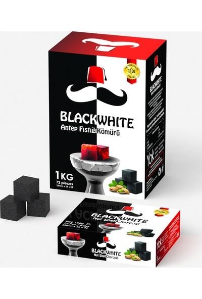 Black White Nargile Kömürü - 12 Li 4 Adet