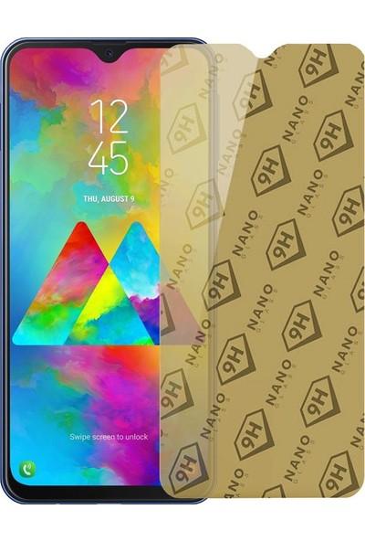 Etech Samsung Galaxy M20 Blue Nano Glass Ekran Koruyucu