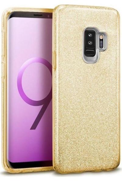 Etech Samsung Galaxy M10 Simli Shining Kılıf