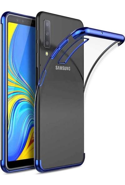 Etech Samsung Galaxy A10 Köşeli Laser Kılıf