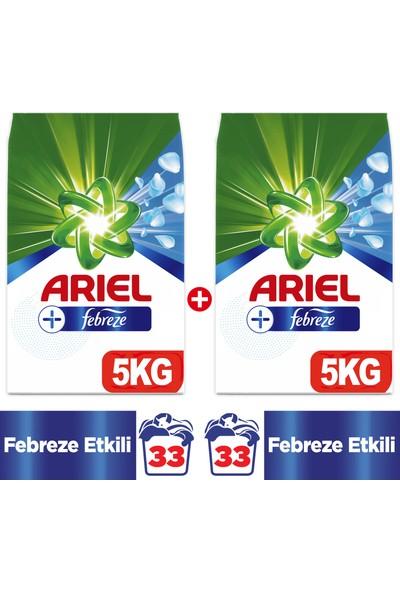 Ariel Plus Toz Çamaşır Deterjanı Febreze Etkili 5 kg + 5 kg