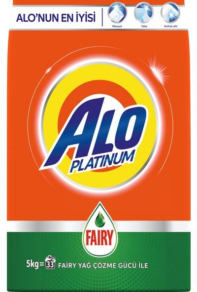 Alo Platinum 5 kg Toz Çamaşır Deterjanı Fairy Etkili