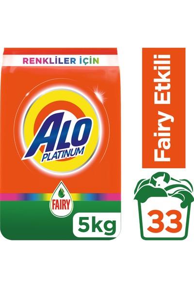 Alo Platinum 5 kg Toz Çamaşır Deterjanı Fairy Etkili Renkliler İçin