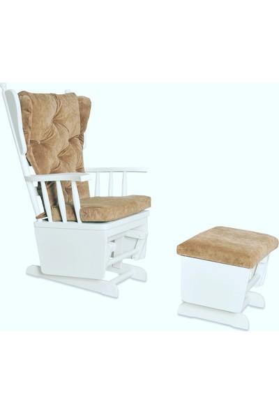 Kvs Puflu Sallanan Koltuk Sallanan Sandalye Tv Koltuğu