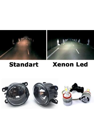 Kaliteplus Mitsubishi L200 2012 Model Beyaz LED Xenon Sis Farı Seti