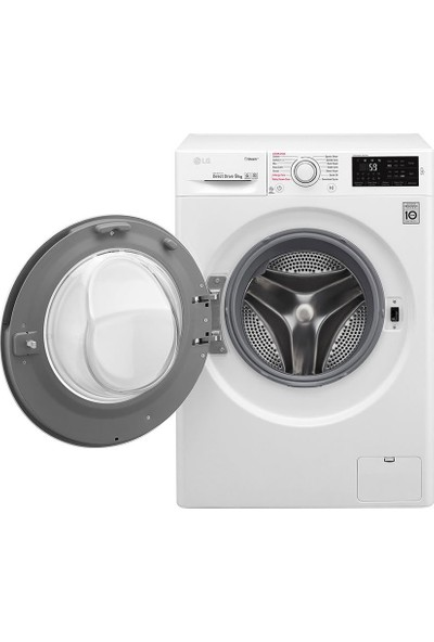 LG F4J6VYP0W A+++ 9 kg 1400 Devir Çamaşır Makinesi