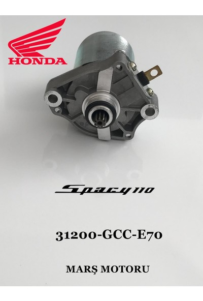 Honda Spacy 110 Marş Motoru