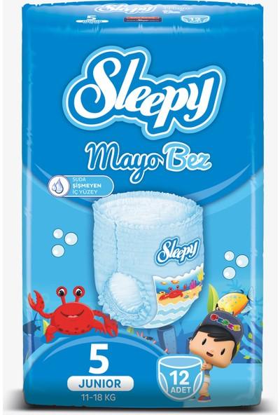 Sleepy Mayo Bebek Bezi 5 Beden 12 Adet 11 - 18 kg