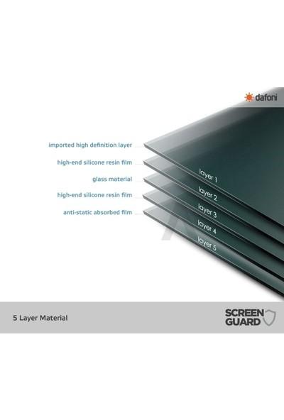 Dafoni Samsung Galaxy S10 Plus Curve Nano Glass Premium Cam Siyah Ekran Koruyucu