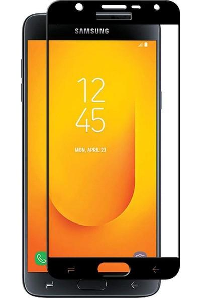 Dafoni Samsung Galaxy J6 Curve Slim Triple Shield Siyah Ekran Koruyucu