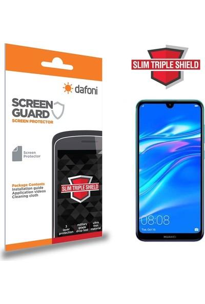 Dafoni Huawei Y7 Prime 2019 Slim Triple Shield Ekran Koruyucu