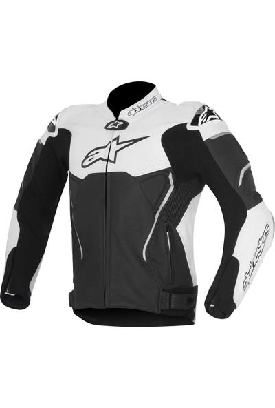 Alpine Stars Atem V2 Leather Jacket Deri Motosiklet Montu
