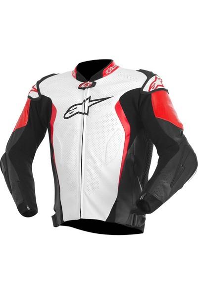 Alpine Stars Gp Tech Leather Jacket Deri Motosiklet Montu