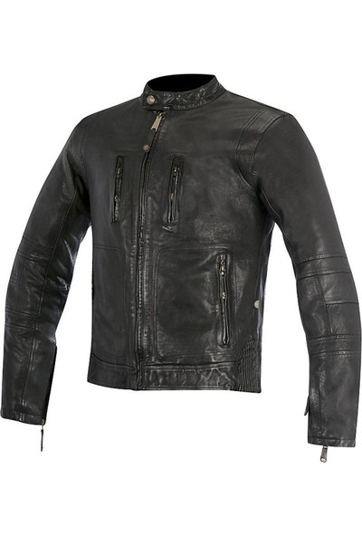 Alpine Stars Monty Leather Jacket Deri Motosiklet Montu
