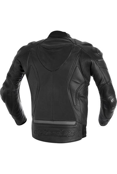 Alpine Stars Phantom Leather Jacket Deri Motosiklet Montu